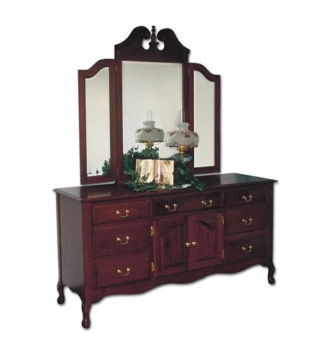 queen anne bedroom furniture queen anne master dresser ohio hardwood furniture