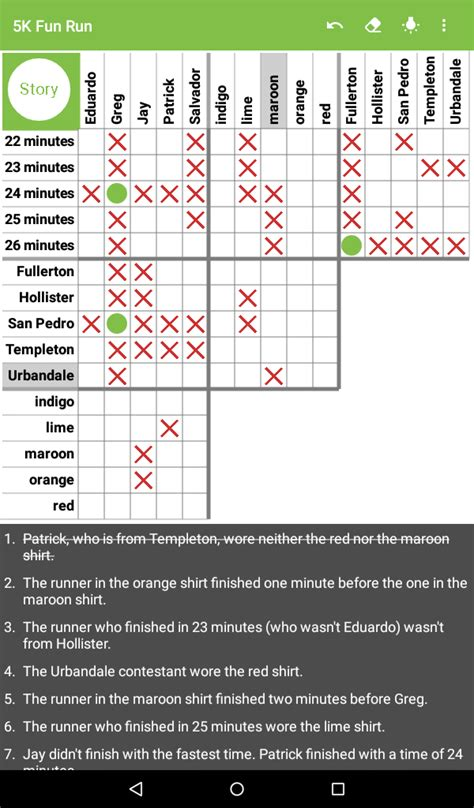 printable logic puzzles puzzle baron logic puzzles by puzzle baron amazon es appstore para