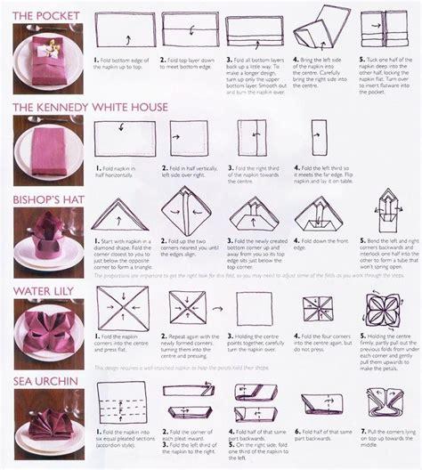 ways to fold napkins trusper
