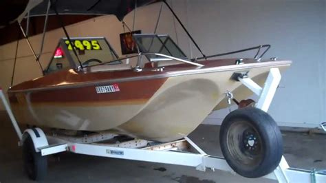 remodel runabout boat 1981 ebko tri hull 15 ft youtube