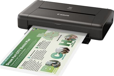 Printer Canon Ip110 canon pixma ip110 portable colour a4 wireless printer