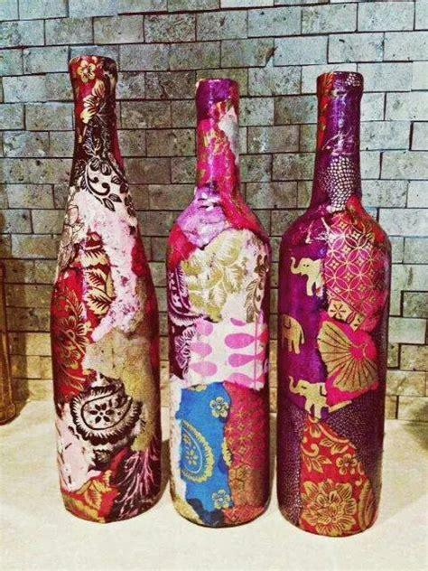 garrafas decoradas home garrafas decoradas decoupage recicle dyi
