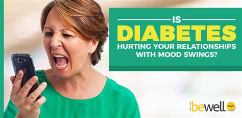 mood swings in diabetes is diabetes hurting your relationships with mood swings