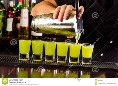 top shots bar shots royalty free stock photography image 36139017