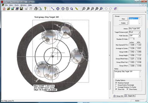 gunsport of colorado want to download a target to use ontarget precision calculator measuring firearm