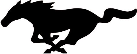 mustang logo mustang logo black and white drawings pictures to pin on