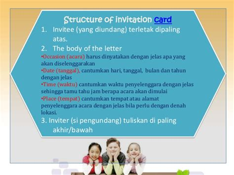 Invitation Letter Adalah Real Ppt Invitation Card