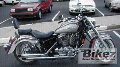 1999 honda shadow 1100 specs 1999 honda vt 1100 c3 shadow specifications and pictures