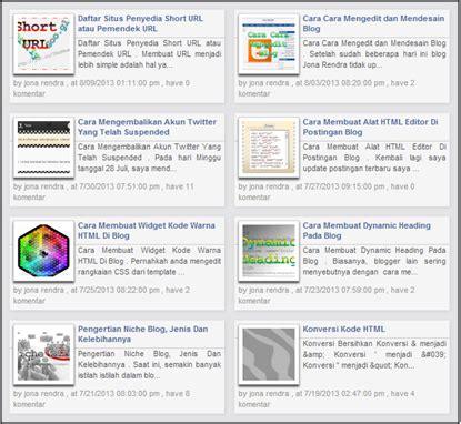 membuat jurnal dua kolom cara membuat dua kolom postingan di beranda blog