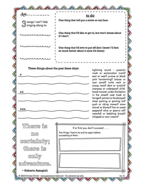 printable journal writing worksheets creative journal pages prompts really fun journaling
