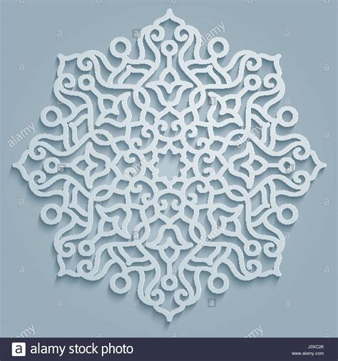 round islamic pattern vector round pattern mandala decorative persian arabic