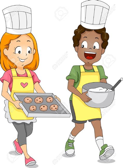Cool At Home Crafts by Kids Cook Clipart