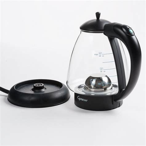 Capresso H20 Plus Glass Water Kettle   1.5 qt.   Save 39%