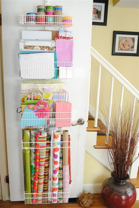 Wrapping Paper Racks 41 Insanely Awesome Organization