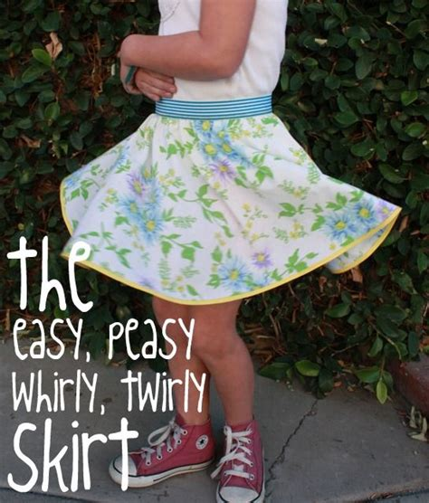 pattern for 2 year old skirt twirly skirt sew happy pinterest circles skirts and