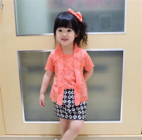 Kutubaru Modern Anak 60 model kebaya anak modern terbaru 2018 model baju