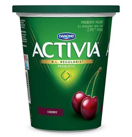 Yoghurt Probiotik 1 Liter activia cherry 2 9 m f probiotic yogurt walmart canada