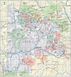 gunnison colorado map gunnison county colorado geological survey