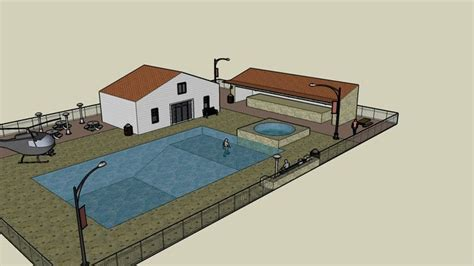 warehouse layout sketchup sketchup components 3d warehouse pool 3d pool component