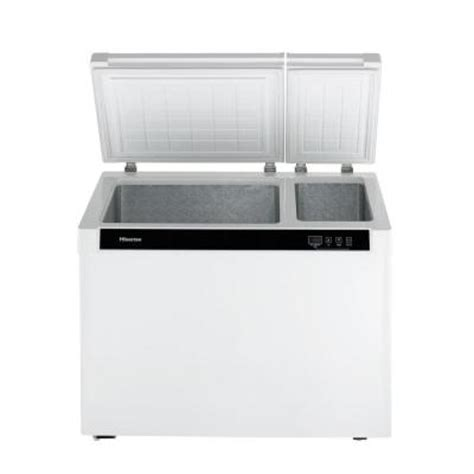 hisense 9 0 cu ft chest freezer in white fd90d6awd the