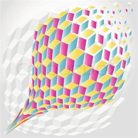 Sketchytech The Inspiration Of Hexagons For Drawing In 3d - abstract color hexagon background cube 3d stock