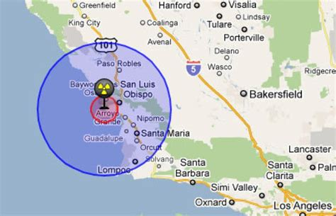 nuclear power plants in california map p g e proposes to erase point bushon marine protected