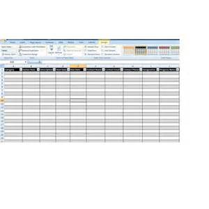 Registration Form Template Excel by Registration Form Template Excel