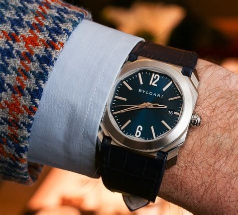 Bulgari Blue new bulgari bulgari and bulgari octo watches in blue ablogtowatch
