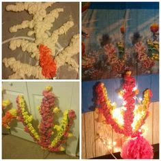 spray paint coral reefs coral reef made from boxes spray foam and spray