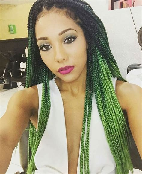how to do ombre box braids lovely emerald green ombre box braids want similar jumbo