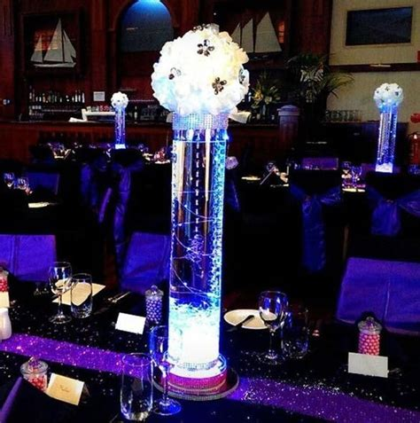 lighted wedding centerpieces lighted wedding centerpieces 10 stunning ideas to