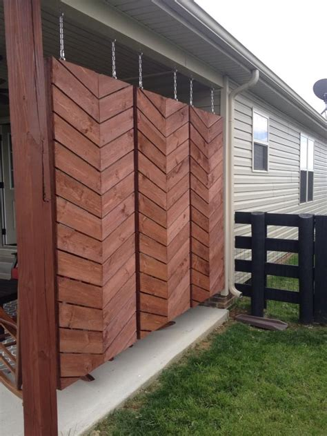 Plastic Patio Walls by 25 Best Ideas About Deck Privacy Screens On