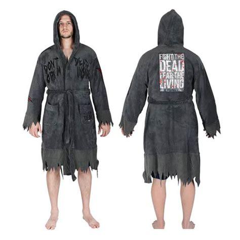 walking dead bathroom the walking dead do not open hooded fleece bath robe robe factory walking dead