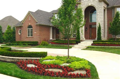 front yard landscape photos ideas landscaping ideas for front yard with wall