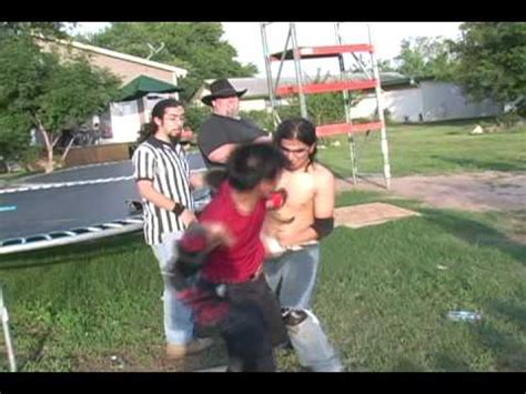 extreme backyard wrestling pin esw backyard wrestling hardcore kidd alex g vs wicked