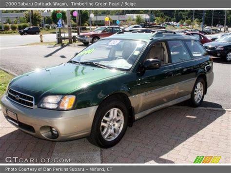 2000 subaru outback interior timberline green pearl 2000 subaru outback wagon beige