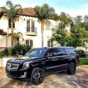 Cadillac Escalade Custom Cadillac Custom Escalade Black On Instagram