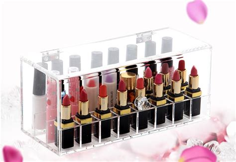 Acrylik Box Lipstik T 24 Lipstick Holder 24lot Acrylic Displa End 6 9 2018 12 15 Am