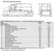 Hiller Ford  2012 Econoline Vans E150 E250 E350