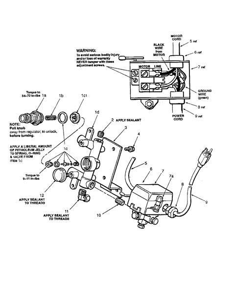 wiring diagram air compressor pressure switch wiring