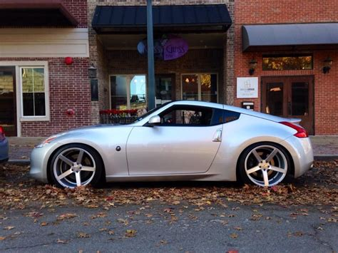 nissan 370z custom rims nissan 370z vossen cv3 wheels the nissan z
