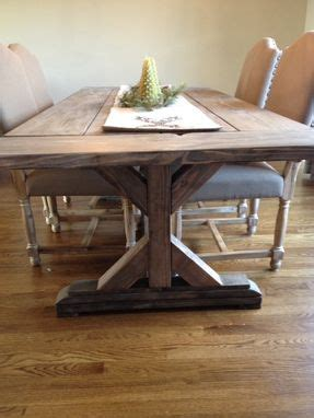 Kitchen Table Furniture buy a hand crafted fancy x farmhouse table with extensions