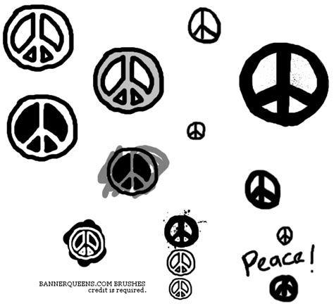 paint a doodle peace sign peace sign doodle brushes by akaleez88 on deviantart