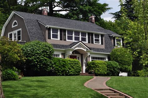 dutch colonial roof gambrel roof done well impressive renovations