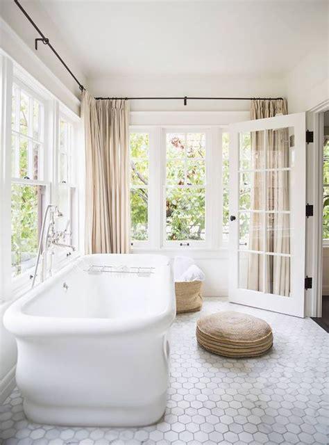 Bathtub Floor by Hexagon Bathroom Floor Tile Centsational Style