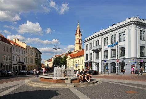 town hall square vilnius  town hall square