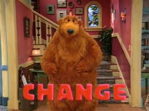 bear inthe big blue house episodes episode 215 change is in the air muppet wiki