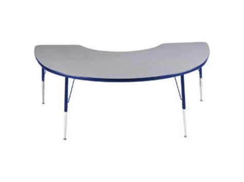 kidney shaped table for classroom edu edge kidney activity table 72x48 quot classroom tables