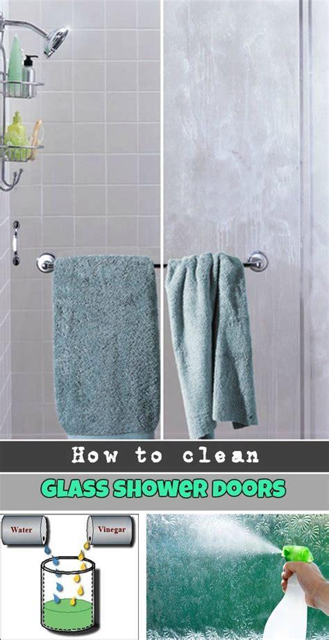 clean glass shower doors ncleaningtipscom