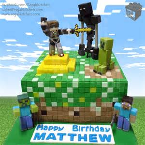 Sky Does Minecraft Cake_Gold_Butter_Sword_Robot Enderman_Zombie_Steve_Pickaxe_Creeper_Blocks_Squares_PC Game_Gamer_Gaming_Geek_Geeky_Birthday birthday cakes online philippines 13 on birthday cakes online philippines